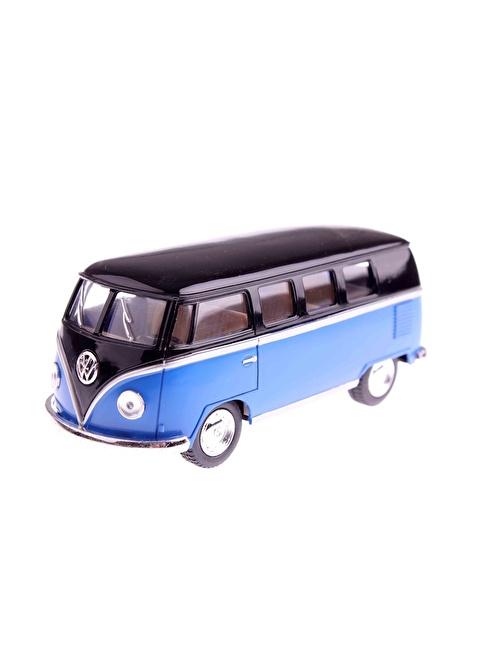 Kinsmart 1962 Volkswagen Classical Bus 1/32 Çek Bırak Die-cast Model Araç Renkli